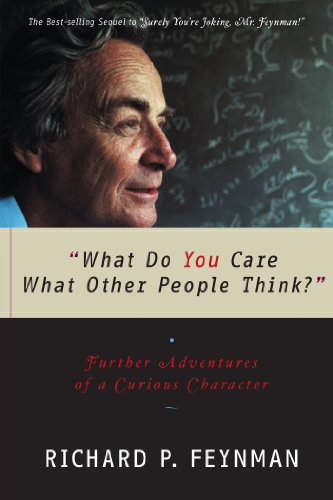 "Richard P. Feynman - ""What Do You Care What Other People Think?"" Audio Book Free"