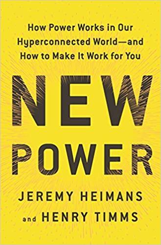 Jeremy Heimans - New Power Audio Book Free